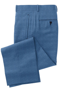 Light Blue Tic Weave Suit