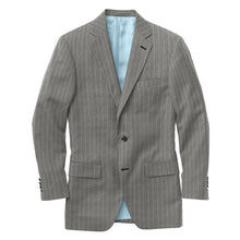 Load image into Gallery viewer, Grey Chalk Stripe Suit