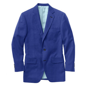 Bright Royal Blue Solid Suit