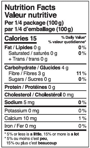 CAN LIVIVA Shirataki Pasta with Oat nutrition facts 03a93575 4d9b 4b61 ab83