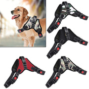 No Pull Mesh Harness for Dogs is Soft and Breathable w/ Hand Strap for Easy Control