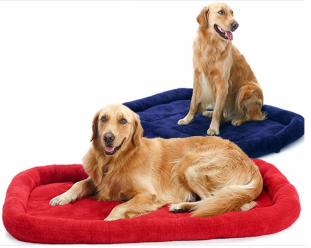 Large Red or Green Dog Beds