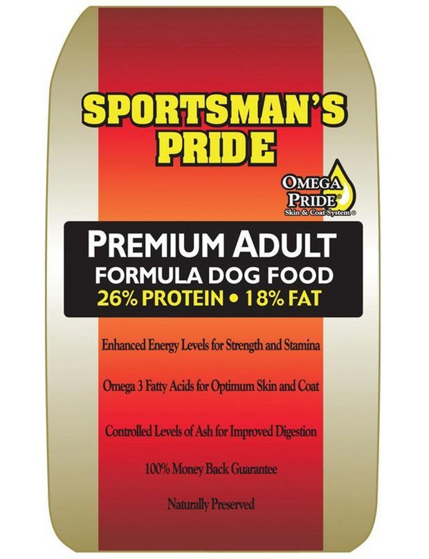 SPORTSMAN'S PRIDE PREMIUM ADULT DOG FOOD