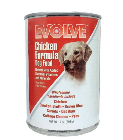 EVOLVE CANNED DOG FOOD - Chicken