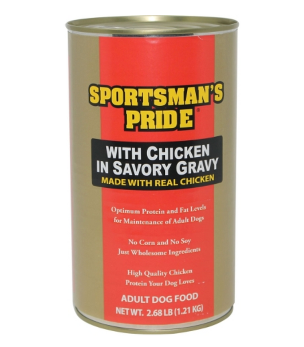 SPORTSMAN'S PRIDE CANNED DOG FOOD - CHICKEN