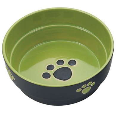 FRESCO CERAMIC DOG BOWL