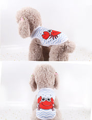 Summer Dog Shirt For Small Dogs Clothes