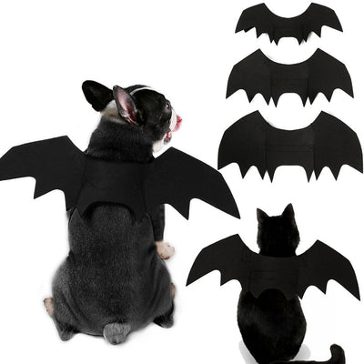 Halloween Dog Cosplay Costumes - Bat Wings