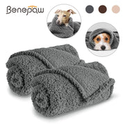 Soft Cozy Fleece Dog Blanket will keep your dog warm this winter