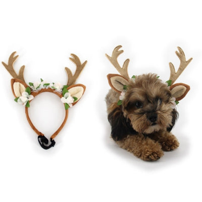Christmas Reindeer Antlers for Puppy