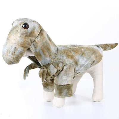 Cool 3D Dinosaur Costume Dog