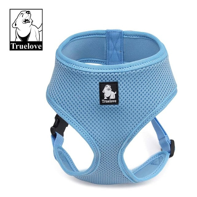 Truelove Pet Harness made from Breathable Mesh Nylon For Small Medium Dogs available in 8color