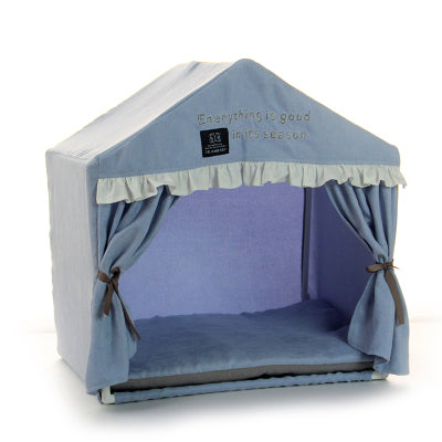 Pink Princess Camping House For Small Breeds