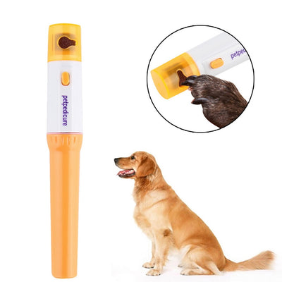 Pet Dog Cat Nail Grooming Grinder - Painless Easy Carry Nail File Kit