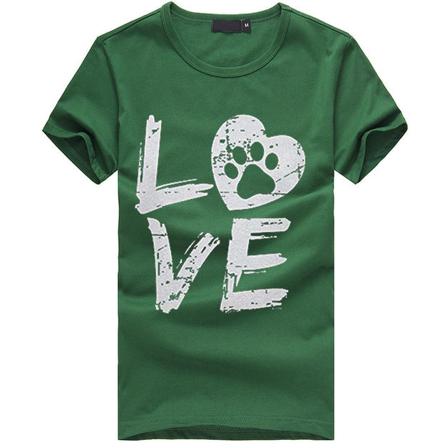 """Love"" Print Women Tees"