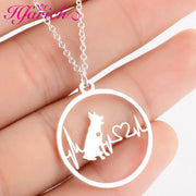 Stainless Steel Pendant Necklace