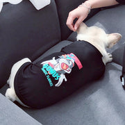 Cartoon Pattern matching shirts for you and your dog