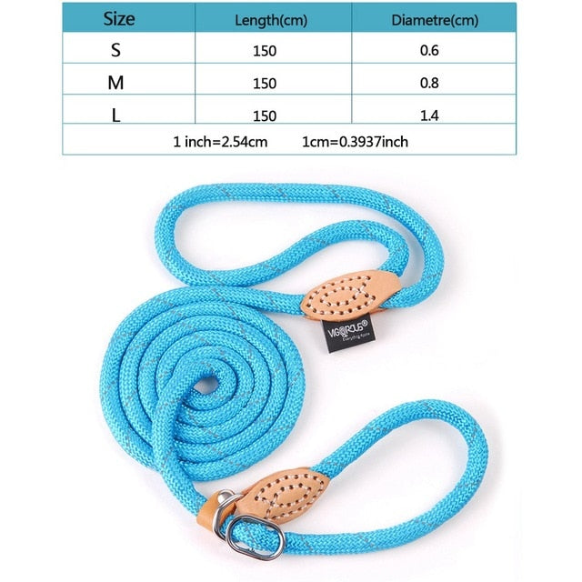 Reflective Dog Leash for Large Dogs