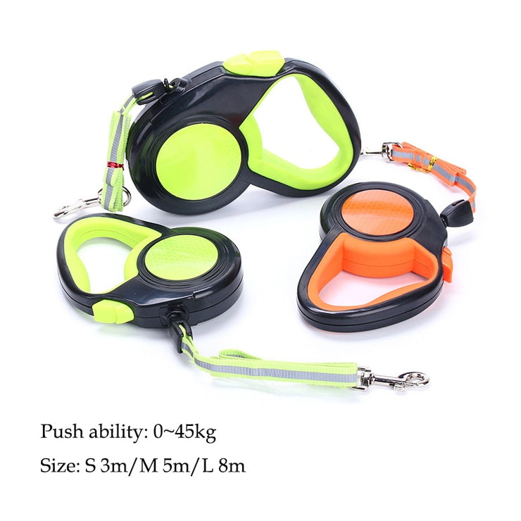 Retractable Dogs Leashes - Available in 3M/5M/8M for Small Medium Large Dogs