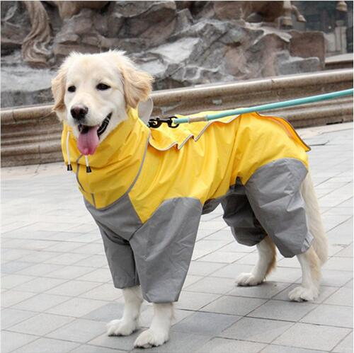 Pet Big Dog Raincoat  For Small - Large Dogs