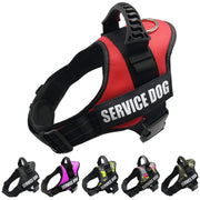 Dog Harness -  w/ Reflective Labels - Custom Labels are available using the link below