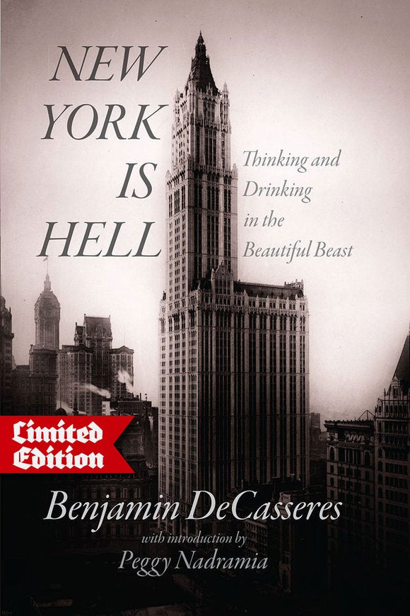 New York is Hell | Ben DeCasseres | Hardback | Ltd.Ed.33
