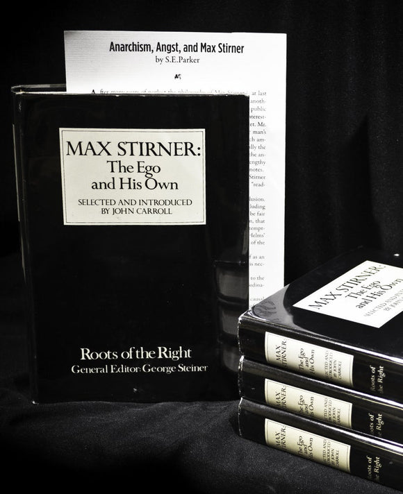 SA1019 | Max Stirner/Roots of the Right | Ltd.Ed.45