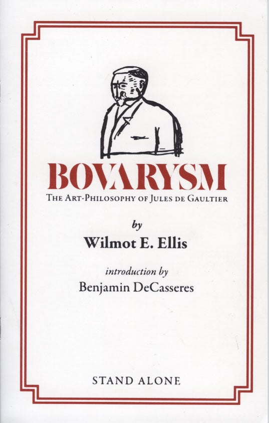 SA1110 | Bovarysm: The Art-Philosophy of Jules de Gaultier
