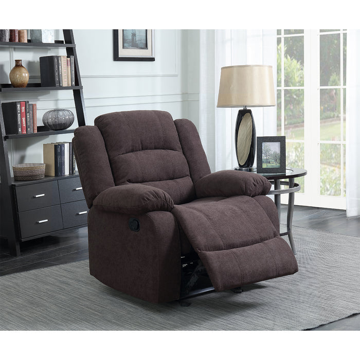 Silla Reclinable Hoffman Power Chocolate