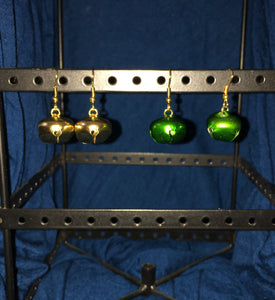 Harness bell earrings