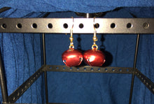 Load image into Gallery viewer, Harness bell earrings