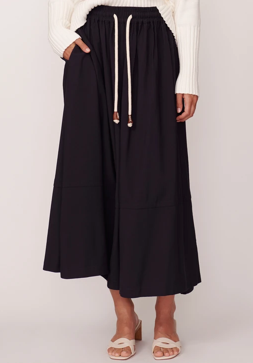 Pol Black Juniper Skirt