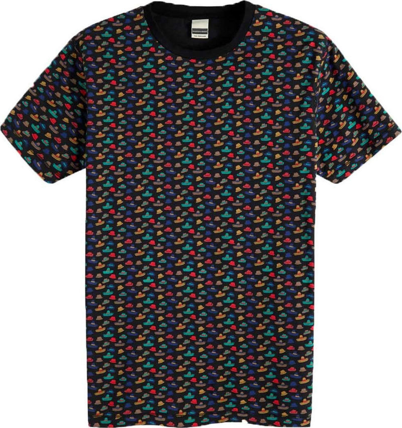 Scotch & Soda Hat Crewneck T-Shirt