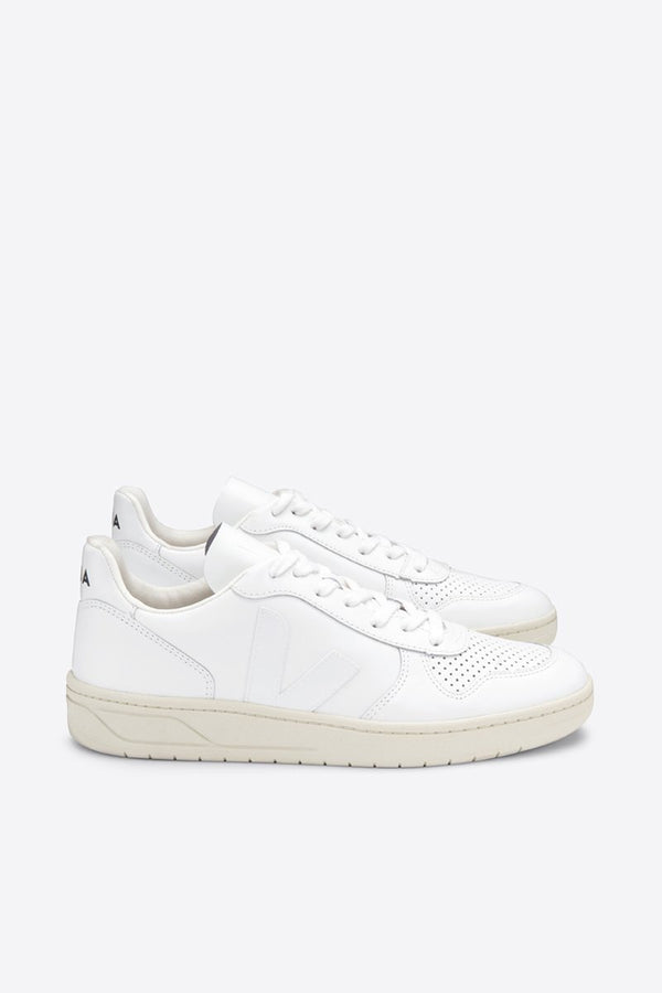 VEJA Extra White V-10 Leather Sneaker