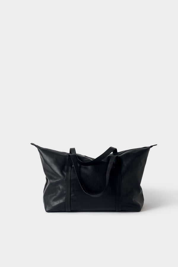 Città Black Frank Leather Duffle Bag