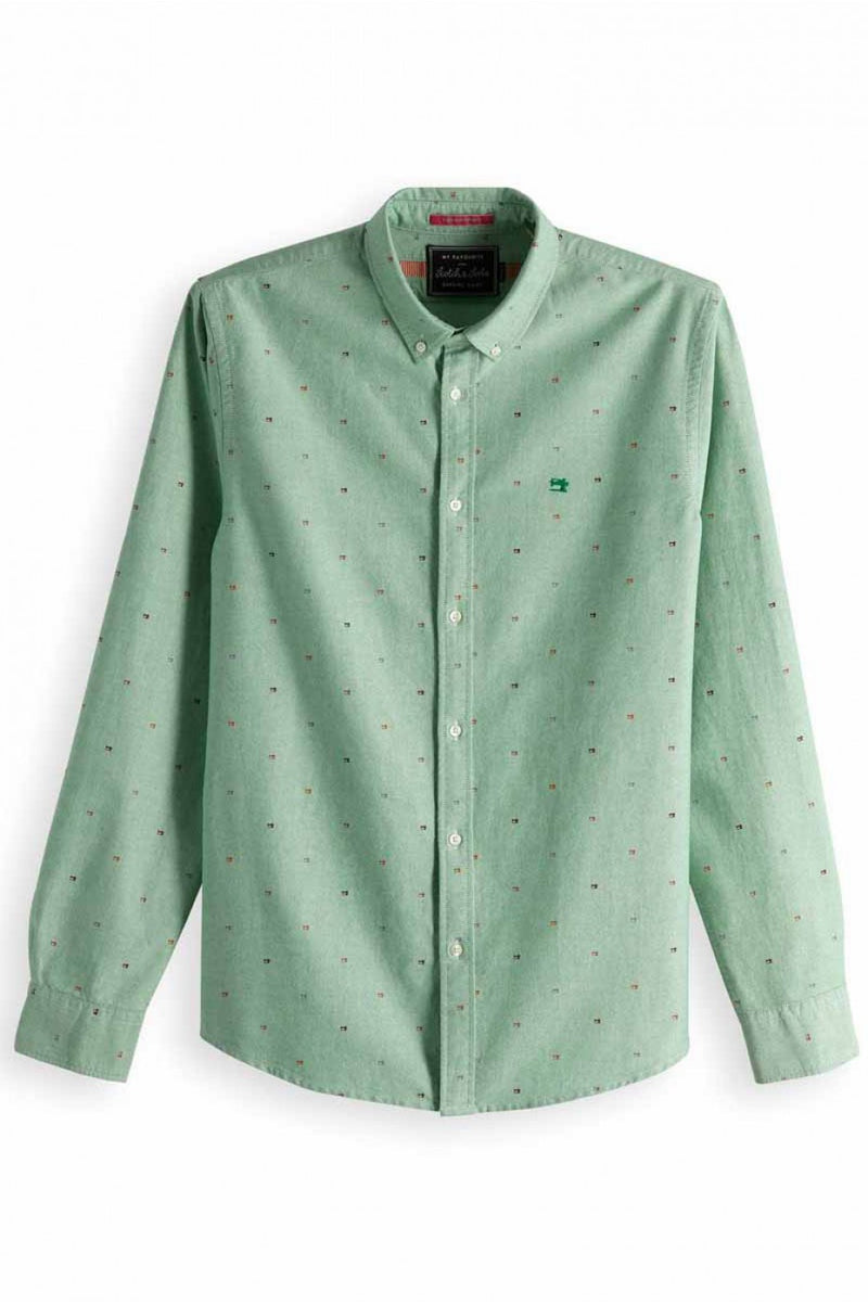 Scotch & Soda Regular Fit Summer Shirt