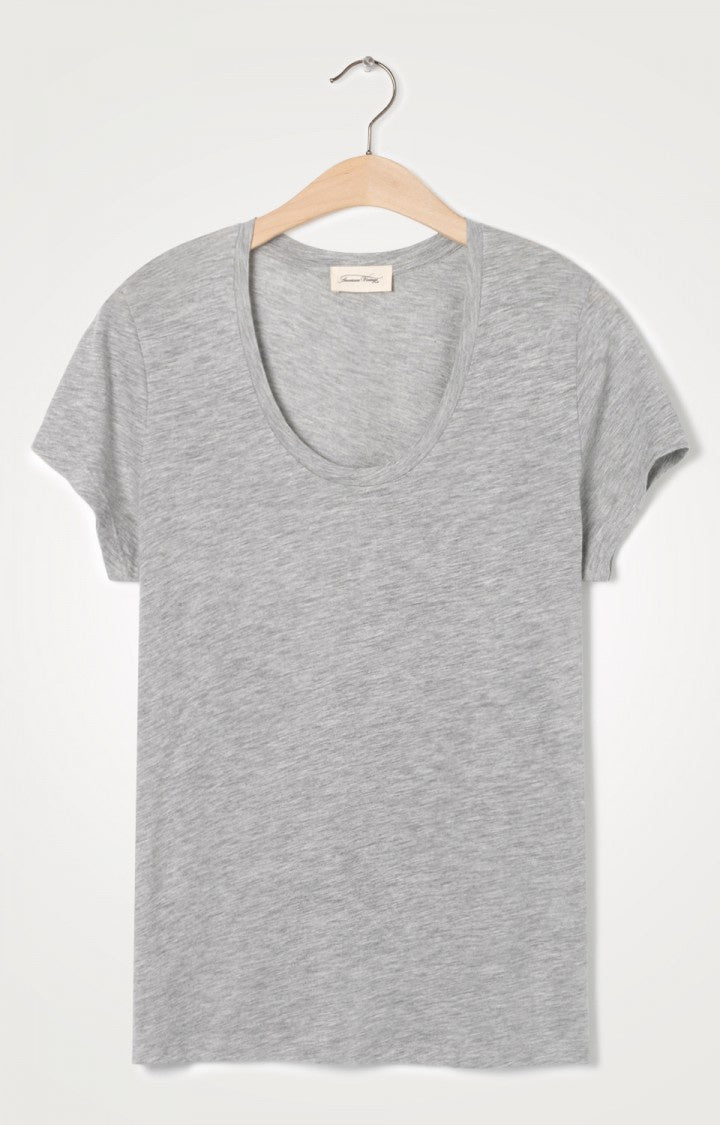 American Vintage Heather Grey Jacksonville Tee