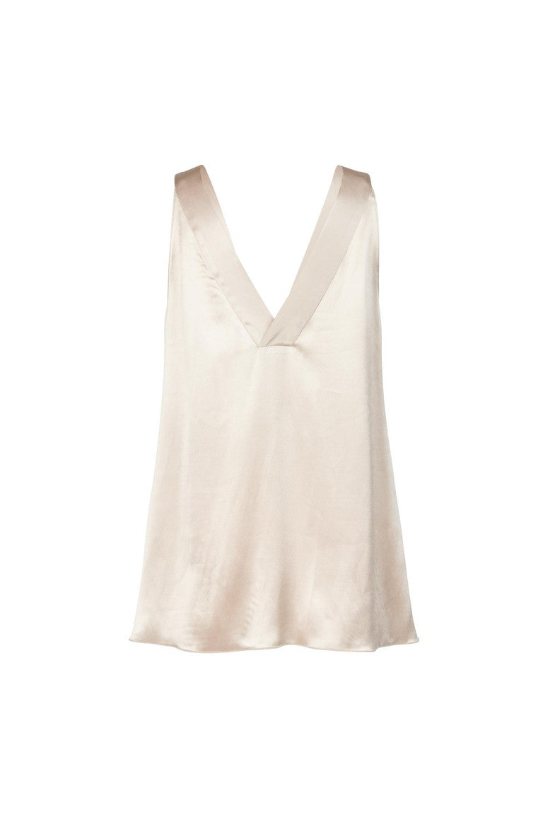 Pomandere Ice Satin Top