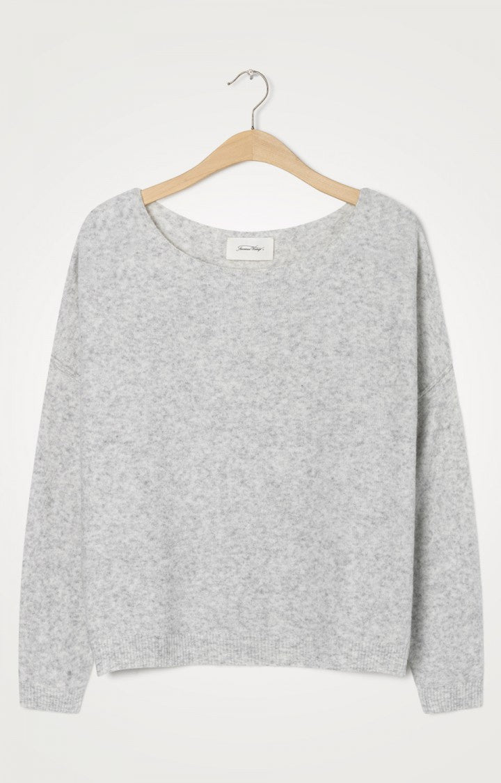 American Vintage Heather Grey Damsville Sweater