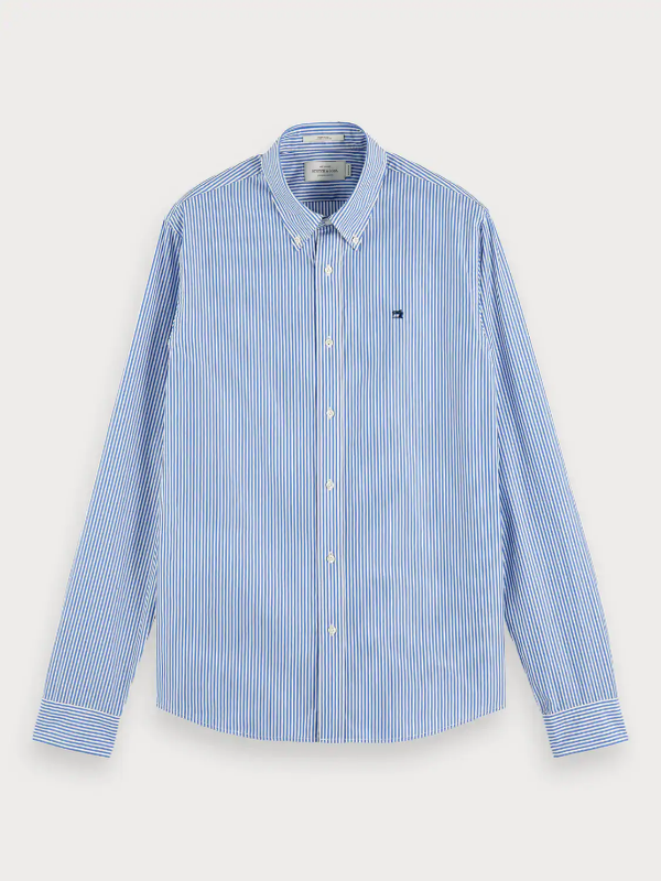 Scotch & Soda Crispy Poplin Check Shirt