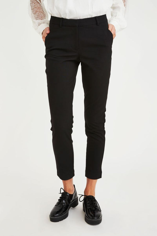 Five Units Black Kylie Crop Pant