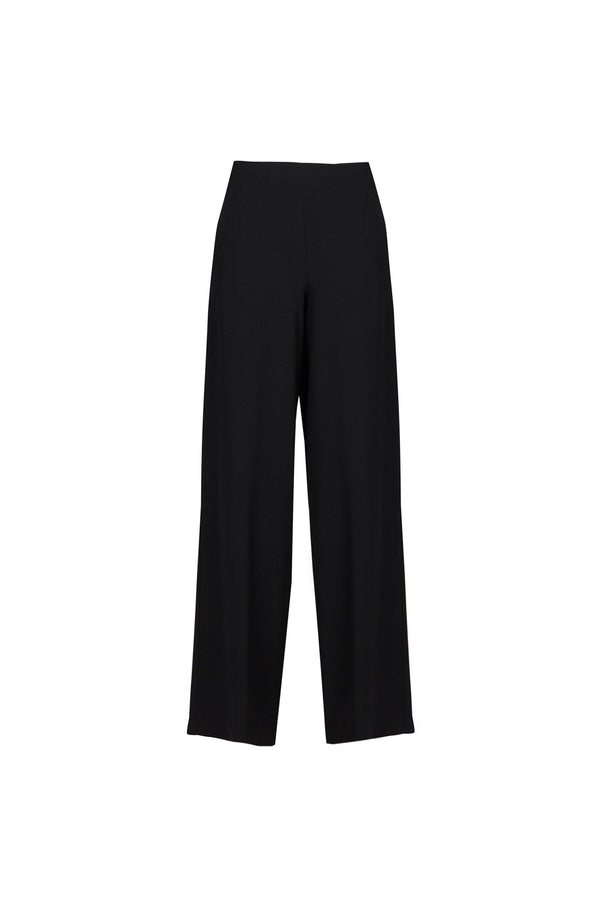 Pomandere Black Wide Leg Trouser
