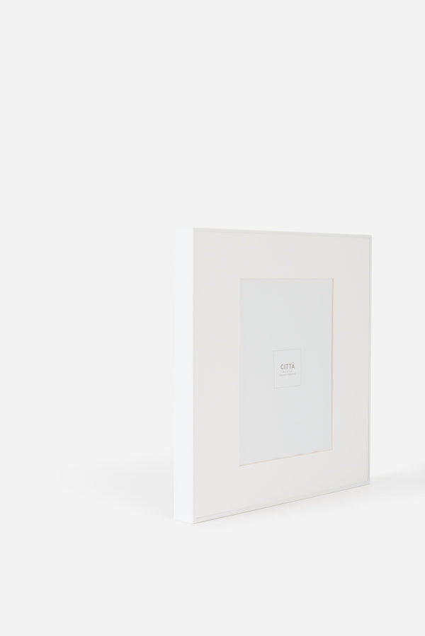 Città White Contour Photo Frame (8x10in)