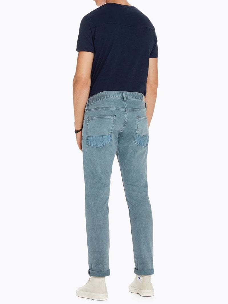 Scotch & Soda Classic 5 Pocket Grey-Blue Ralston