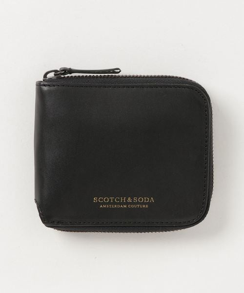 Scotch & Soda Classic Leather & Nylon Wallet