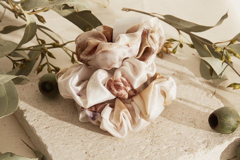 Eloïse Panetta Mini Silk Scrunchie