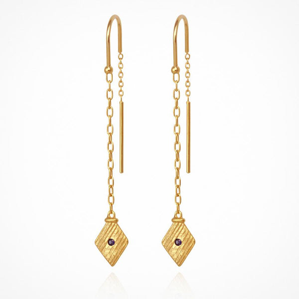 Temple Of The Sun Inka Earrings