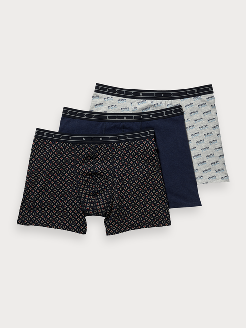 Scotch & Soda Mixed Boxers 3 Pack