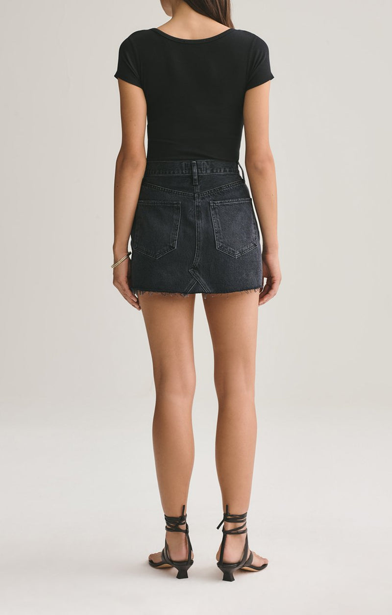 AGOLDE Pose Quinn Mini Skirt
