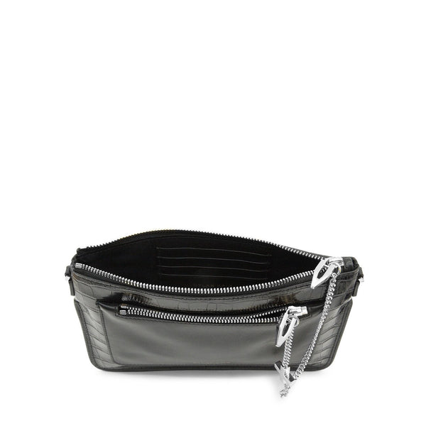 Dylan Kain Silver Croc Margot Bag